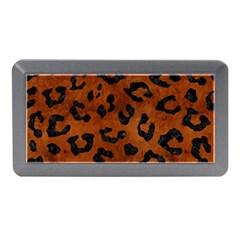 Skin5 Black Marble & Brown Burl Wood Memory Card Reader (mini)