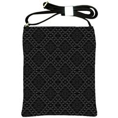 BACK IS BLACK Shoulder Sling Bags