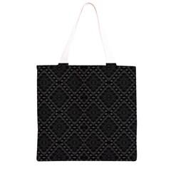BACK IS BLACK Grocery Light Tote Bag