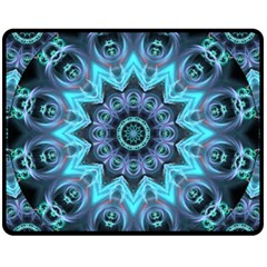 Star Connection, Abstract Cosmic Constellation Fleece Blanket (Medium)