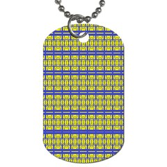 NO VACCINE Dog Tag (Two Sides)
