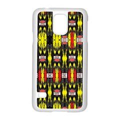 KNOT TWO VAC SIG NEIGHT Samsung Galaxy S5 Case (White)