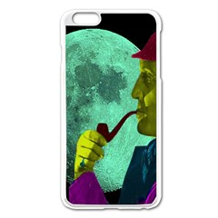 Sherlock Holmes Apple Iphone 6 Plus/6s Plus Enamel White Case