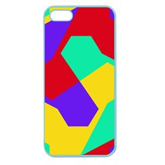 Colorful misc shapes                                                  Apple Seamless iPhone 5 Case (Color)