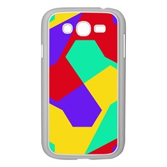 Colorful misc shapes                                                  Samsung Galaxy Grand DUOS I9082 Case (White)