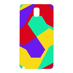 Colorful misc shapes                                                  			Samsung Galaxy Note 3 N9005 Hardshell Back Case