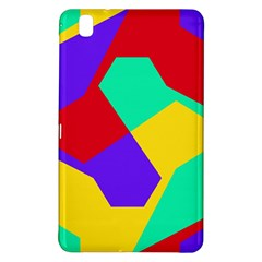 Colorful misc shapes                                                  			Samsung Galaxy Tab Pro 8.4 Hardshell Case