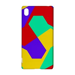 Colorful Misc Shapes                                                  sony Xperia Z3+ Hardshell Case