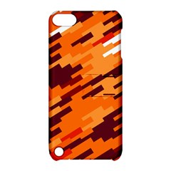 Brown orange shapes                                                    Apple iPod Touch 5 Hardshell Case with Stand