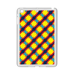 Blue x chains                                                     			Apple iPad Mini 2 Case (White)