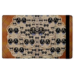 Cats With Hats In The Starry Dark Night Apple iPad 3/4 Flip Case