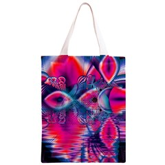 Cosmic Heart Of Fire, Abstract Crystal Palace Classic Light Tote Bag