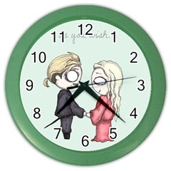 As You Wish Color Wall Clocks