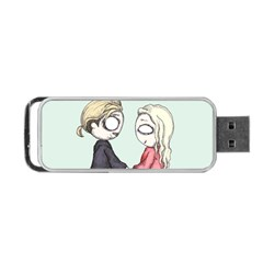 As You Wish Portable USB Flash (Two Sides)