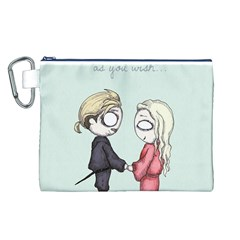 As You Wish Canvas Cosmetic Bag (L)