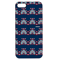 Hearts pattern                                                      			Apple iPhone 5 Hardshell Case with Stand