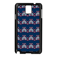 Hearts pattern                                                      			Samsung Galaxy Note 3 N9005 Case (Black)