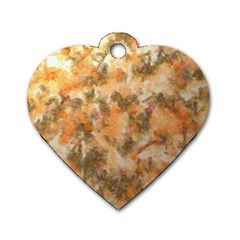 Water Oil Paint                                                       Dog Tag Heart (One Side)