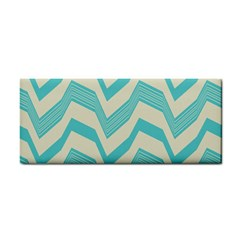 Blue waves pattern                                                         			Hand Towel