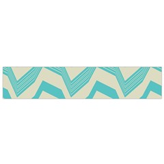 Blue Waves Pattern                                                         Flano Scarf