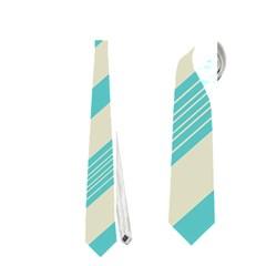 Blue waves pattern                                                         Necktie