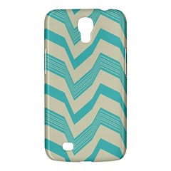 Blue waves pattern                                                         			Samsung Galaxy Mega 6.3  I9200 Hardshell Case