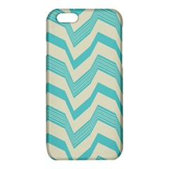Blue waves pattern                                                         			iPhone 6/6S TPU Case