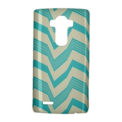 Blue waves pattern                                                         			LG G4 Hardshell Case