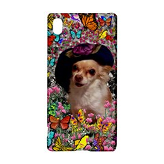 Chi Chi In Butterflies, Chihuahua Dog In Cute Hat Sony Xperia Z3+
