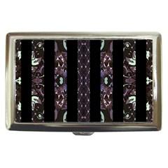 Oriental Floral Stripes Cigarette Money Cases