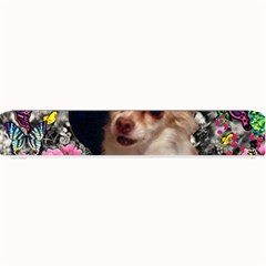 Chi Chi In Butterflies, Chihuahua Dog In Cute Hat Small Bar Mats