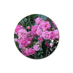 Wild Roses Rubber Coaster (Round)