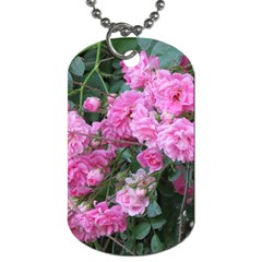 Wild Roses Dog Tag (One Side)