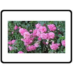 Wild Roses Fleece Blanket (Large)