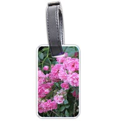 Wild Roses Luggage Tags (Two Sides)