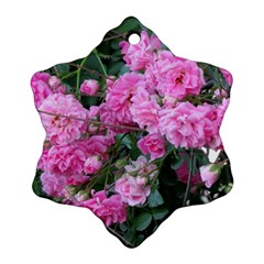 Wild Roses Ornament (Snowflake)