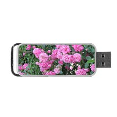 Wild Roses Portable USB Flash (One Side)