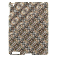 Cobblestone Geometric Texture Apple Ipad 3/4 Hardshell Case