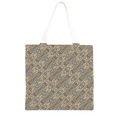 Cobblestone Geometric Texture Grocery Light Tote Bag