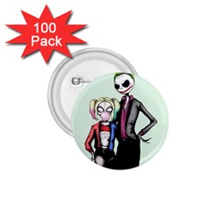 Suicide Nightmare Squad 1.75  Buttons (100 pack)