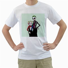 Suicide Nightmare Squad Men s T-Shirt (White) (Two Sided)