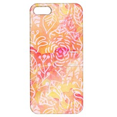 Sunny floral watercolor Apple iPhone 5 Hardshell Case with Stand