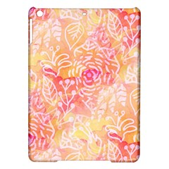 Sunny floral watercolor iPad Air Hardshell Cases