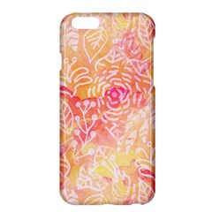 Sunny floral watercolor Apple iPhone 6 Plus/6S Plus Hardshell Case
