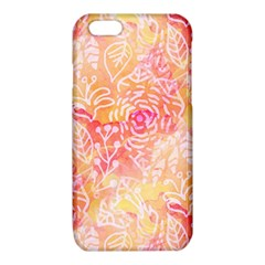 Sunny floral watercolor iPhone 6/6S TPU Case