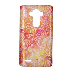 Sunny Floral Watercolor Lg G4 Hardshell Case