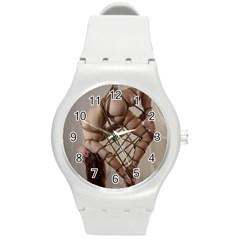 Shibari King of Diamonds Round Plastic Sport Watch (M)