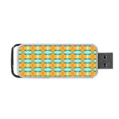 Dragonflies Summer Pattern Portable USB Flash (One Side)