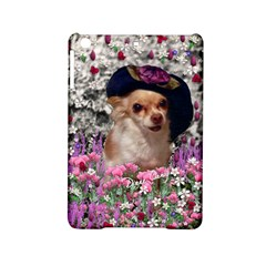 Chi Chi In Flowers, Chihuahua Puppy In Cute Hat Ipad Mini 2 Hardshell Cases