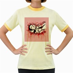 High For This Women s Fitted Ringer T-Shirts